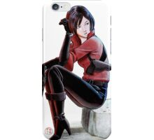 Resident evil - Ada Wong Tribute iPhone Case/Skin