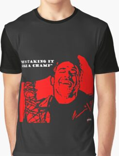 "Negan ""Taking it like a champ"" Graphic T-Shirt"