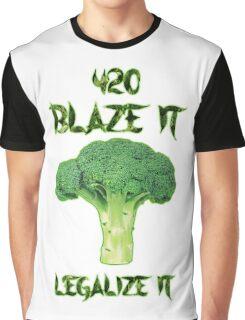 Broccoli 420 Graphic T-Shirt