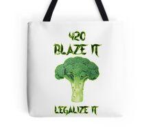Broccoli 420 Tote Bag