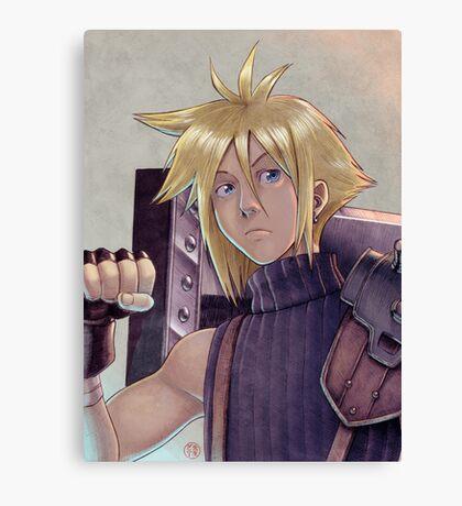 Final Fantasy VII - Cloud Strife Tribute Canvas Print