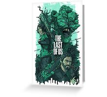 THE LAST OF US [4K] Greeting Card