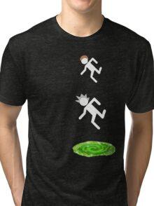 rick and morty 3 Tri-blend T-Shirt