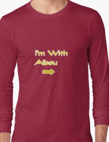 I'm With Aibou Long Sleeve T-Shirt
