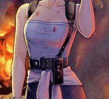 Resident Evil - Jill Valentine tribute Sticker