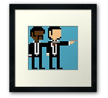 8Bit Pulp Fiction Framed Print