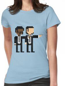 8Bit Pulp Fiction Womens Fitted T-Shirt