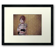 Resident Evil - Rebecca Chambers Tribute Framed Print