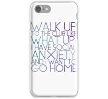 WHAT UP! iPhone Case/Skin