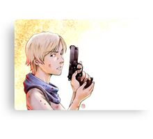 Resident evil - Sherry Birkin Tribute Canvas Print