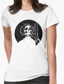 Leia (Stack's Skull Sunday) Womens Fitted T-Shirt