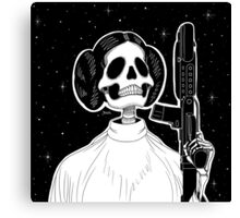 Leia (Stack's Skull Sunday) Canvas Print