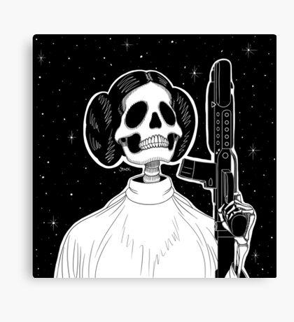 Leia (Stack's Skull Sunday) Canvas Print