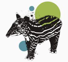 Little tapir Kids Tee