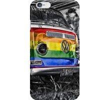 VW van GAY ride iPhone Case/Skin