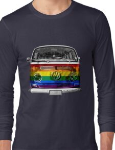 VW van Rainbow Long Sleeve T-Shirt