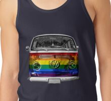 VW van Rainbow Tank Top