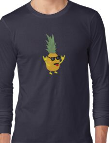 rock'n'roll pineapple Long Sleeve T-Shirt