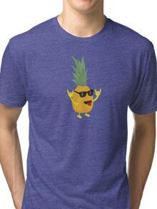 rock'n'roll pineapple Tri-blend T-Shirt