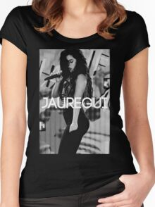 "Lauren Jauregui ""Jauregui Designs"" Women's Fitted Scoop T-Shirt"