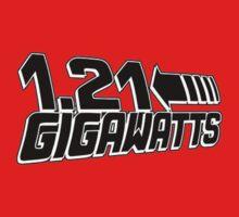 1-21 Gigawatts Back To The Future Inspired Nerd Movie Kids Tee