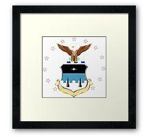 US AIR FORCE ACADEMY Framed Print