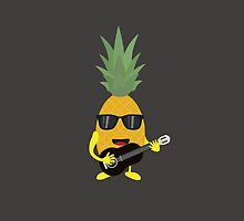 Rock 'n' Roll Pineapple by ilovecotton