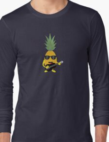 Rock 'n' Roll Pineapple Long Sleeve T-Shirt