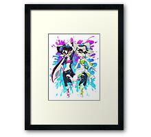 Grand Prix Squid Sisters Framed Print