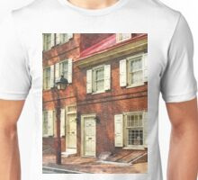Philadelphia PA Brownstone Unisex T-Shirt