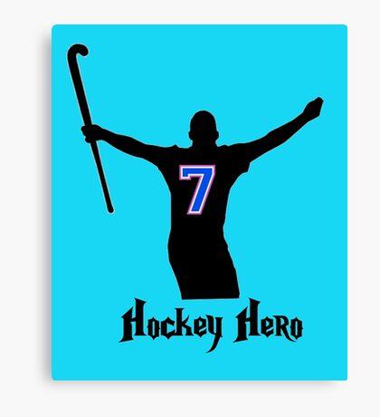 Hockey Hero! Canvas Print