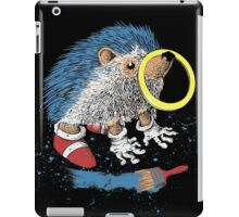 He wants to be the fastest one. iPad Case/Skin