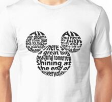 Hidden Mickey Qoutes Unisex T-Shirt
