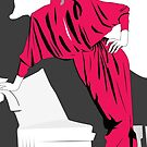 Pink fashion by Michael Birchmore