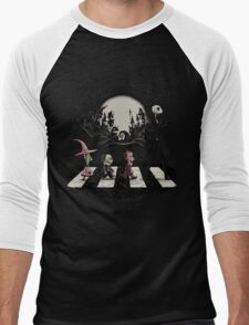 Nightmare Before Christmas Men's Baseball ¾ T-Shirt