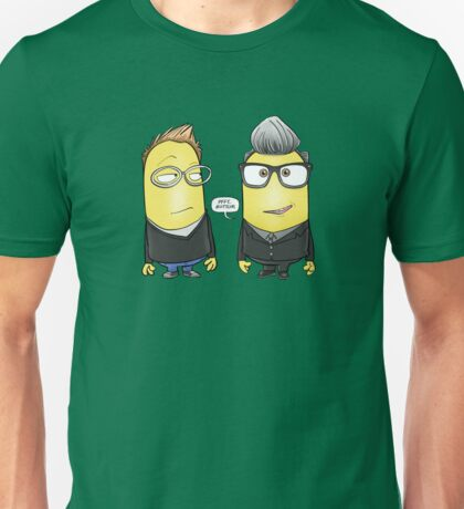 Simon Minion and Minion Kermode Unisex T-Shirt