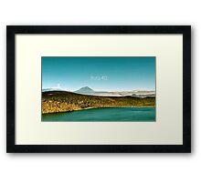 Ruta 40 - Argentina Framed Print