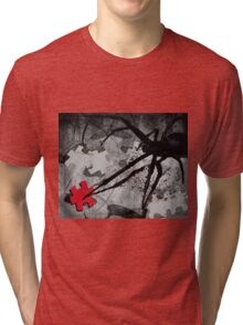 once there was this spider Tri-blend T-Shirt
