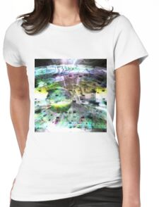 Bursting Colours Womens Fitted T-Shirt