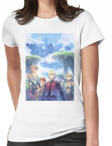 Xenoblade Chronicles Womens Fitted T-Shirt