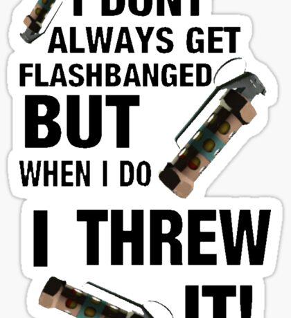 Self Flash Sticker