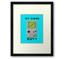 My Game Boy! Framed Print