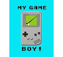My Game Boy! Photographic Print