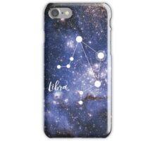 Libra Zodiac Sign, September 23 - October 22 iPhone Case/Skin