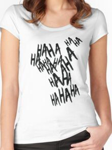 HAHA Women's Fitted Scoop T-Shirt
