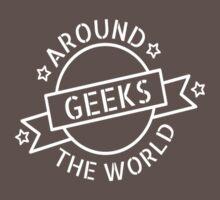 Geeks around the world Baby Tee