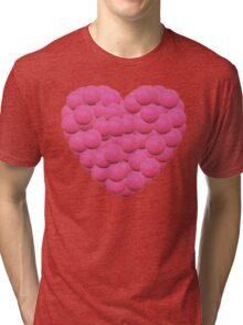 I heart hockey! Tri-blend T-Shirt