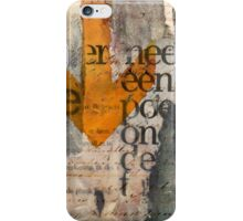 Under the table iPhone Case/Skin