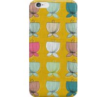 flower cups yellow iPhone Case/Skin