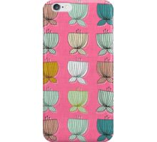flower cups pink iPhone Case/Skin